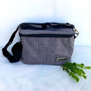 NWOT Gray Lunch Bag by Homest